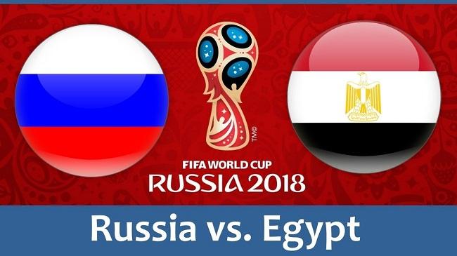 Russia V Egypt